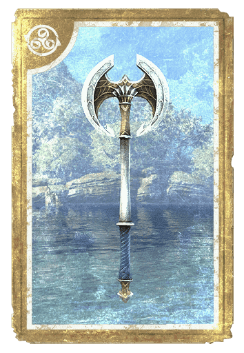Crown Crafting Motif 64: Pyandonean Axes card