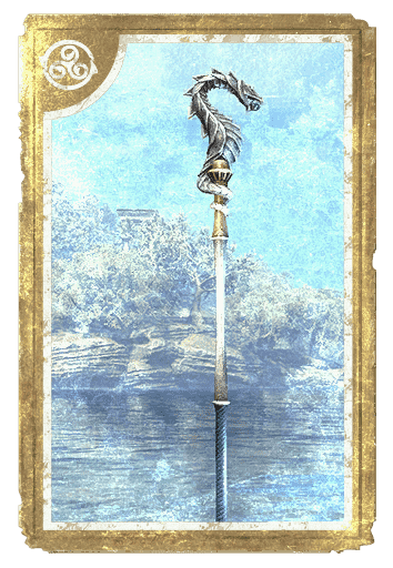 Crown Crafting Motif 64: Pyandonean Staves card