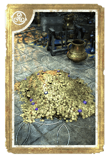 Pile of Dubious Riches card