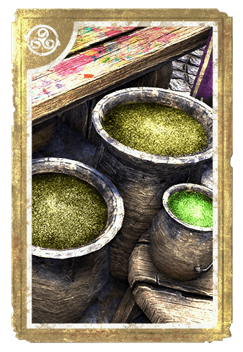 Alchemical: Olive Dragoon card