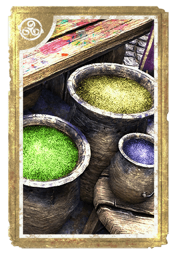Forest: Sand and Moss card