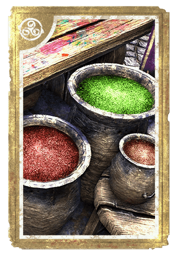 Alchemical: Green Winter Wheat card