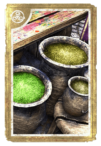 Alchemical: Lichen and Fern card