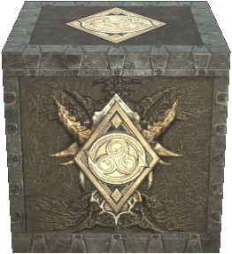 Dragonscale Crate as it appears in ESO