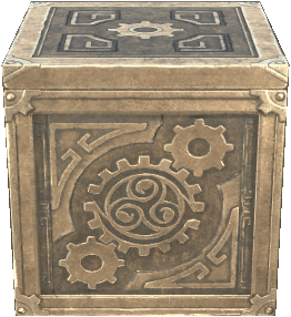 Dwarven Crate as it appears in ESO