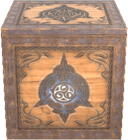 Psijic Vault Crate as it appears in ESO
